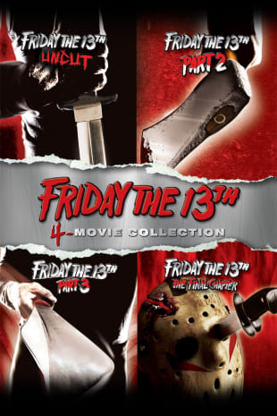 movie poster for Friday the 13th 1-4 Collection