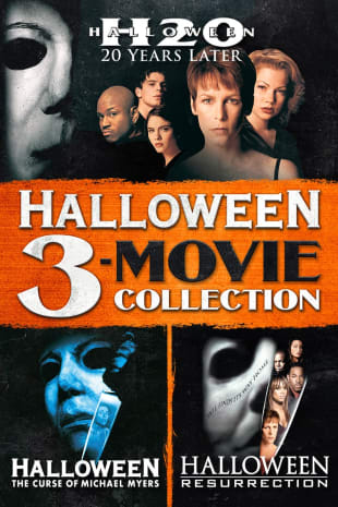movie poster for Halloween 3-Movie Collection