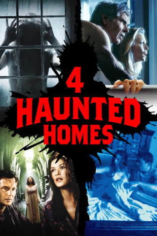 movie poster for 4 Haunted Homes