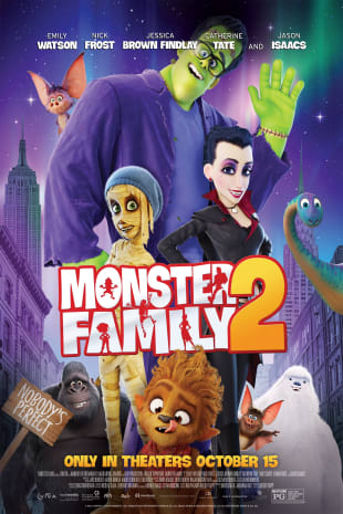 movie poster for Monster Family 2: Nobody's Perfect