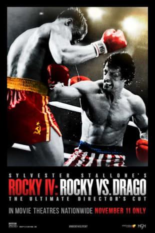 movie poster for Rocky IV: Rocky Vs. Drago
