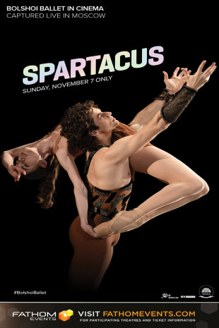 movie poster for Bolshoi Ballet: Spartacus (2021)