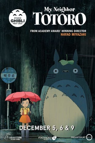 movie poster for My Neighbor Totoro – Studio Ghibli Fest 2021