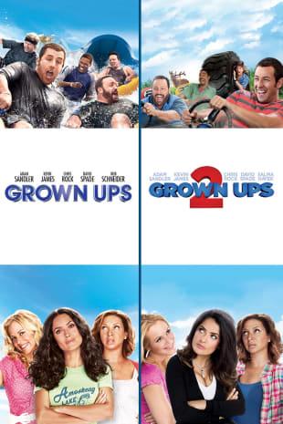 movie poster for Grown Ups / Grown Ups 2 Bundle