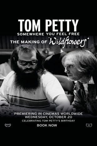 movie poster for Tom Petty, Somewhere You Feel Free