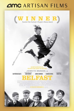 movie poster for Belfast