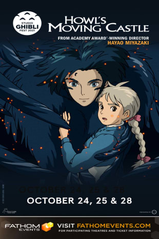 movie poster for Howls Moving Castle - Studio Ghibli (2021)