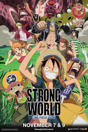 movie poster for One Piece Film: Strong World