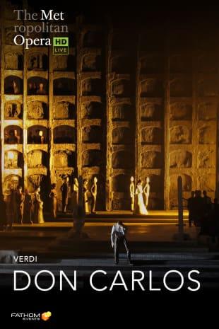 movie poster for MetEn: Don Carlos Encore