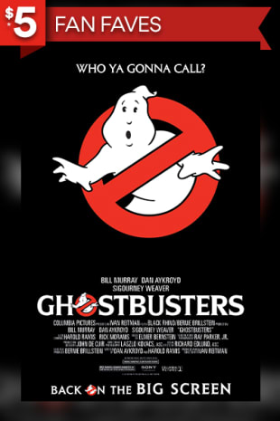 movie poster for Ghostbusters (1984)
