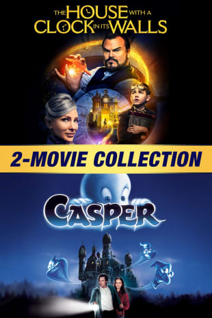 movie poster for The House With A Clock In Its Walls / Casper 2-Movie Collection