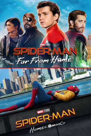 movie poster for Spider-Man: Far From Home / Spider-Man: Homecoming