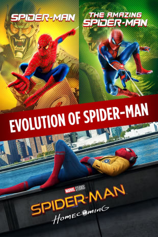 movie poster for The Amazing Spider-Man / Spider-Man (2002) / Spider-Man: Homecoming