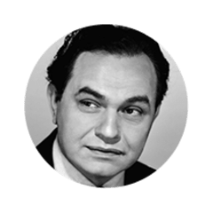 Photo of Actor Edward G. Robinson