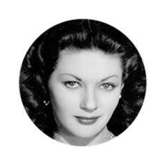 Photo of Actress Yvonne De Carlo