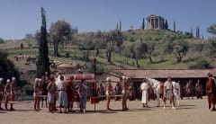 Scene from Spartacus
