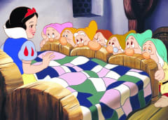 Scene from Snow White and the Seven Dwarfs