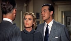 Scene from Dial M for Murder