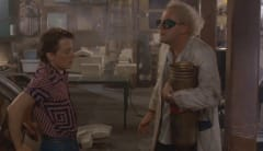 Scene from Back to the Future