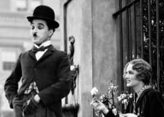 Charlie Chaplin in City Lights Movie