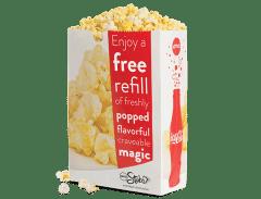 Free Large Popcorn Refill
