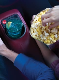 Popcorn and Drinks at AMC