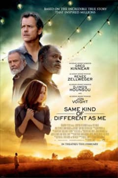 Same Kind of Different As Me Poster Art