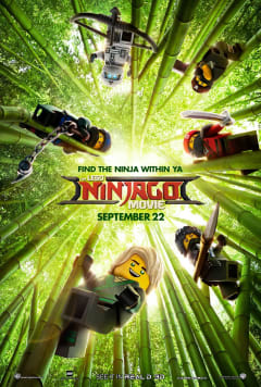 #11 THE LEGO NINJAGO MOVIE