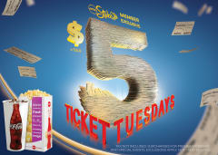 $5 Ticket Tuesday