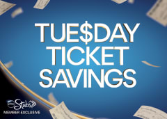 Tuesday Ticket Savings