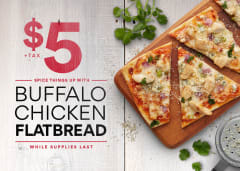 $5 Flatbread Offer