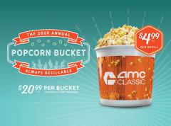2020 Annual Popcorn Bucket