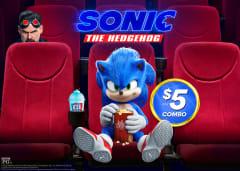 Sonic the Hedgehog $5 ICEE Popcorn Combo