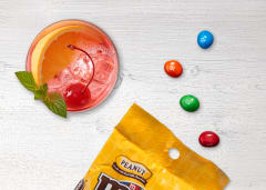Cocktail and M&Ms