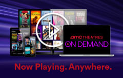 AMC Theatres On Deman. Now Playing. Anywhere