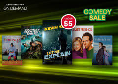 On Demand Comedy Sale Movies Under $5