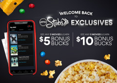 AMC Stubs Bonus Bucks Offer