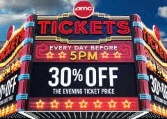 Every Day Before 5pm 30% Off The Evening Ticket Price