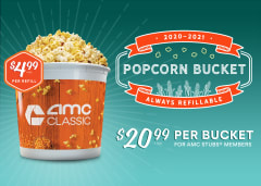 2020-2021 Popcorn Bucket