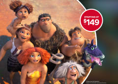 Croods Private Theatre Rental starting at $149+tax