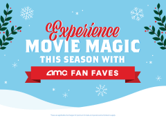 Experience Movie Magic This Season with AMC Fan Faves