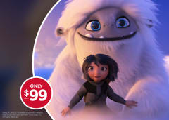 Abominable Private Theatre Rental only $99+tax