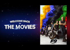 Welcome Back to the Movies - F9: The Fast Saga