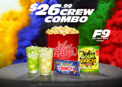 $26.99+tax Crew Combo - F9 The Fast Saga Summer