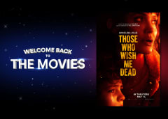 Welcome Back to the Movies - THOSE WHO WISH ME DEAD Movie Poster