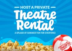 Host a Private Theatre Rental - A Splash of Summer Fun for Everyone!