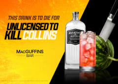 This Drink is to Die For - Unlicensed To Kill Collins