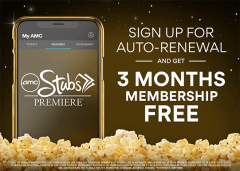 Sign Up for Auto-Renewal and Get 3 Months Membership Free