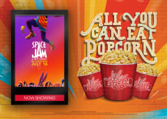 Space Jam: A New Legacy - All You Can Eat Popcorn