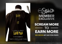 Scream More to Earn More - See 2 Movies Get 1,500 Total Points